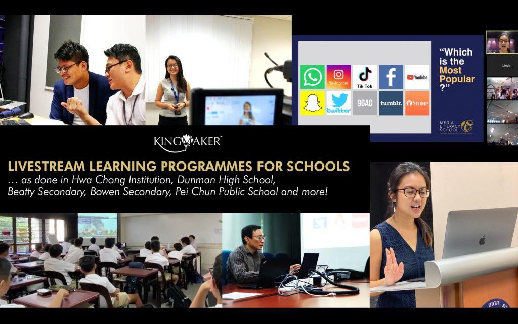 Cyber Wellness Livestream Learning Programme
