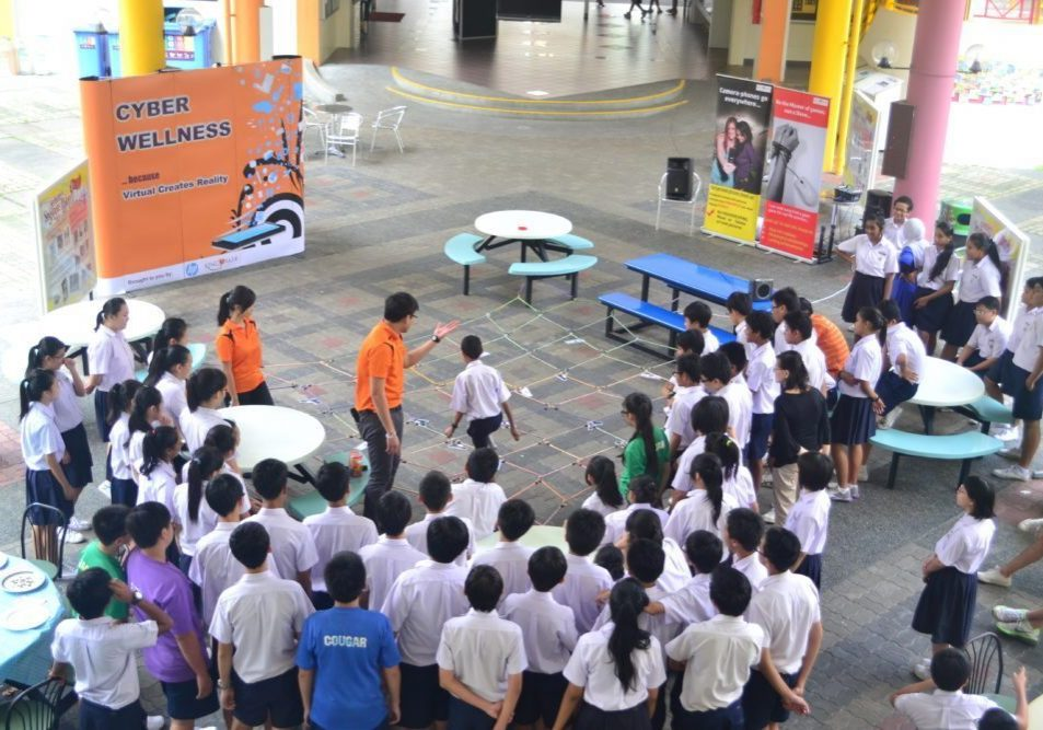 Cyber Wellness Carnival Games Singapore